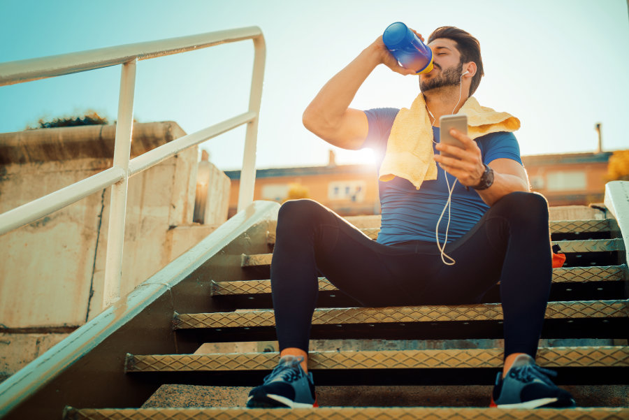The positive effect of exercise on depression